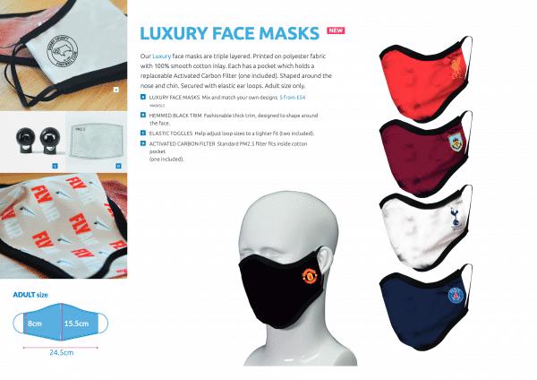 Bespoke Protective Masks